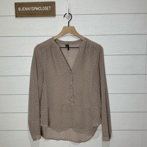 Maurices Small Taupe Top